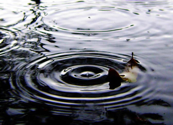 Water been wet