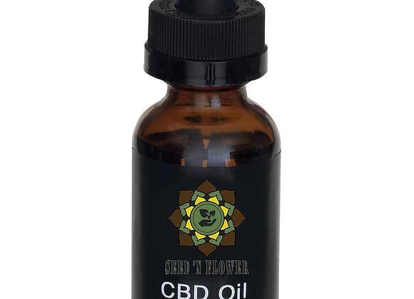 Broad Spectrum Premium Grade   100% Natural  500MG CBD Oil   1 Fl. Oz. / 30 Ml.