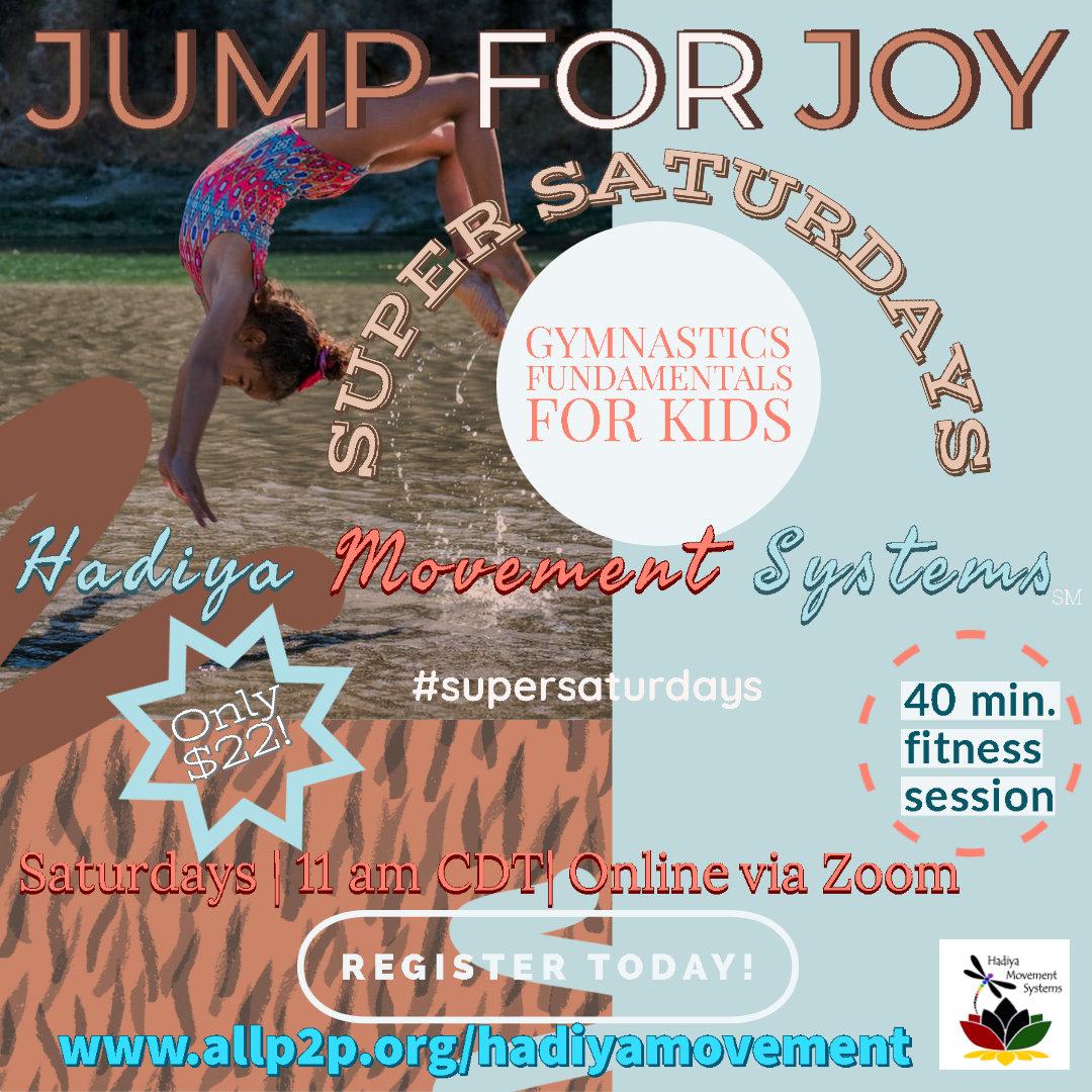 Jump for Joy -  Super Saturdays