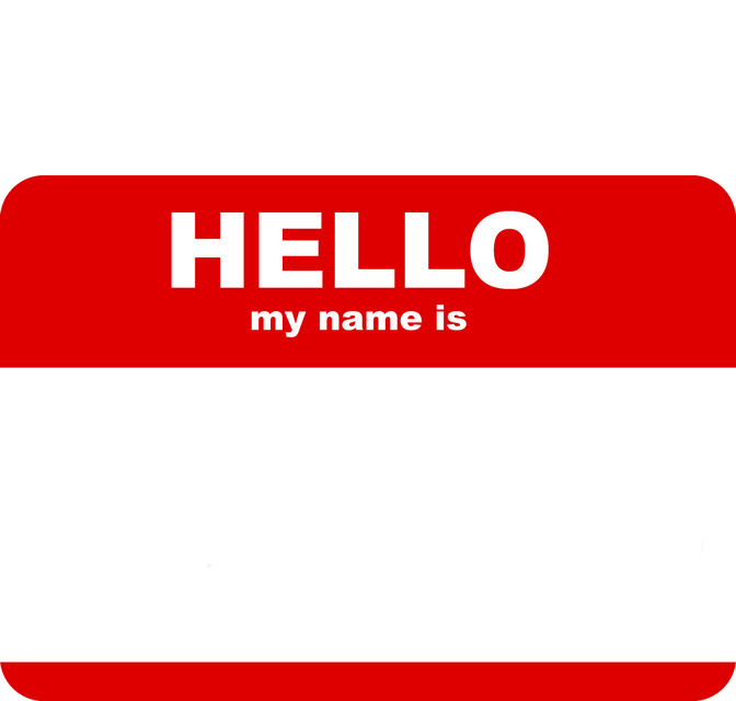 My name: Is