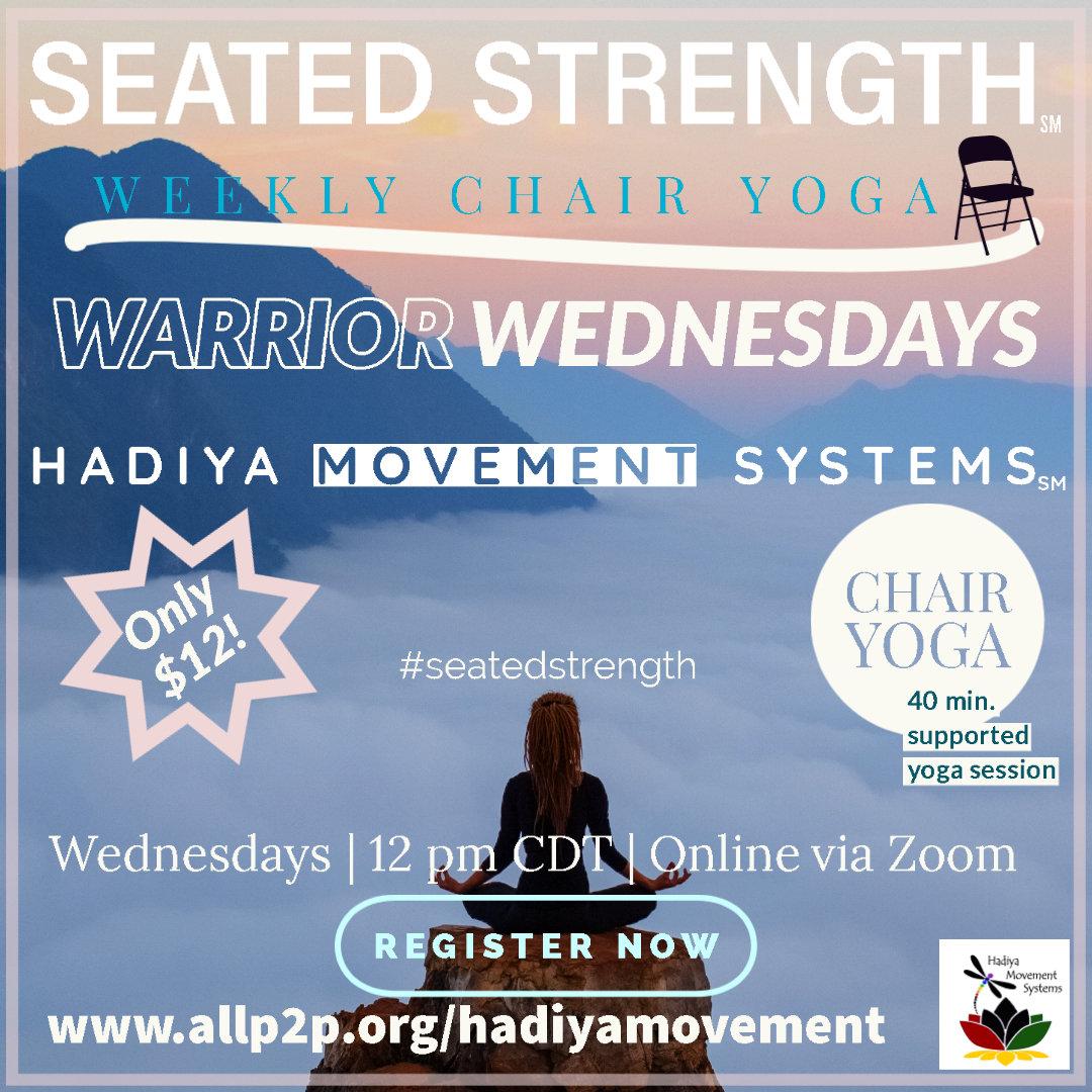 Seated Strength - Warrior Wednesdays