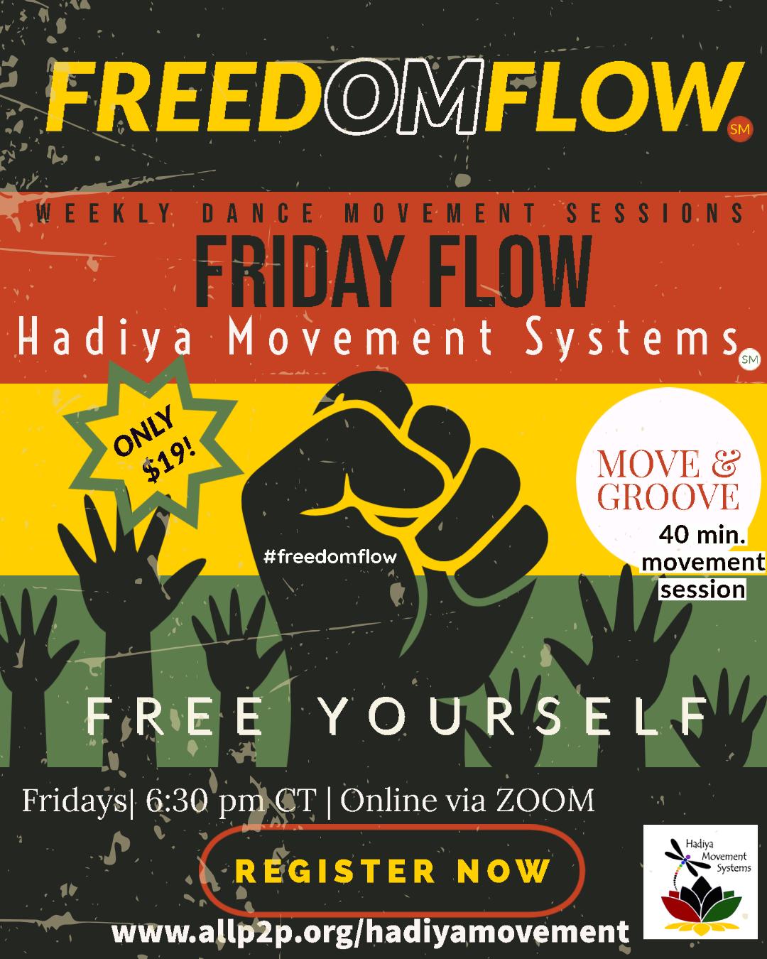 FreedOMFlow -  Freedom Fridays