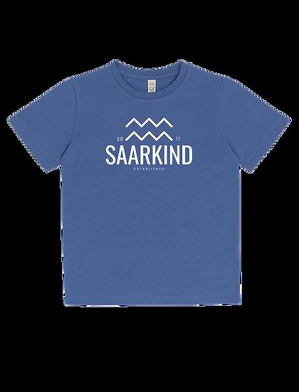 Kids Shirt Blue Denim