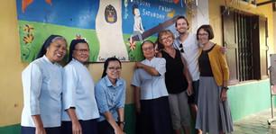 Chez les soeurs à Phnom Penh