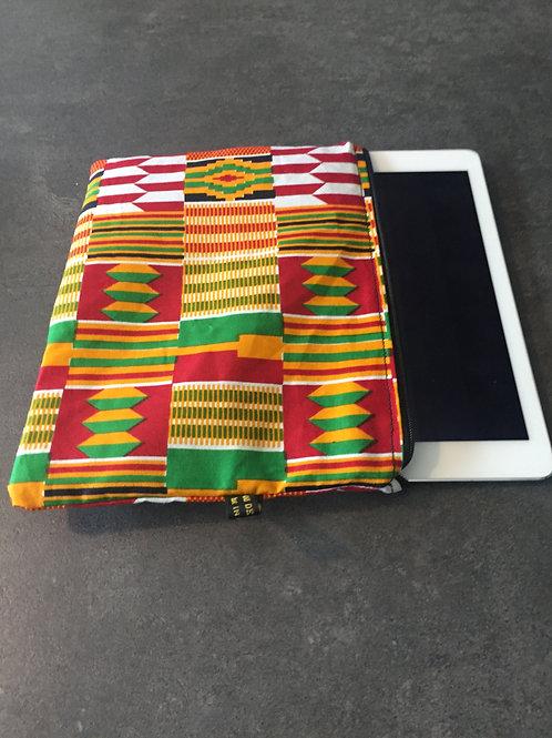 tablette tissu rasta africain