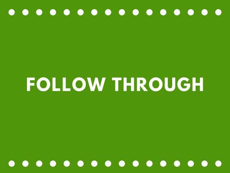 Follow Through