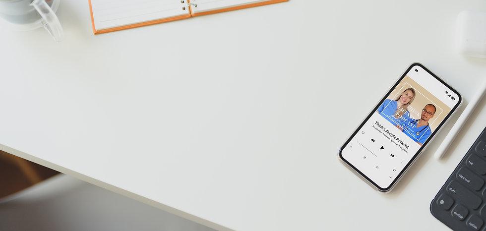 Canva - Cellular Phone Beside Computer K