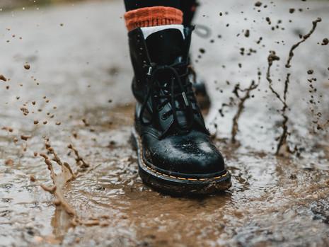 Umziehen bei Regen - kein Problem!