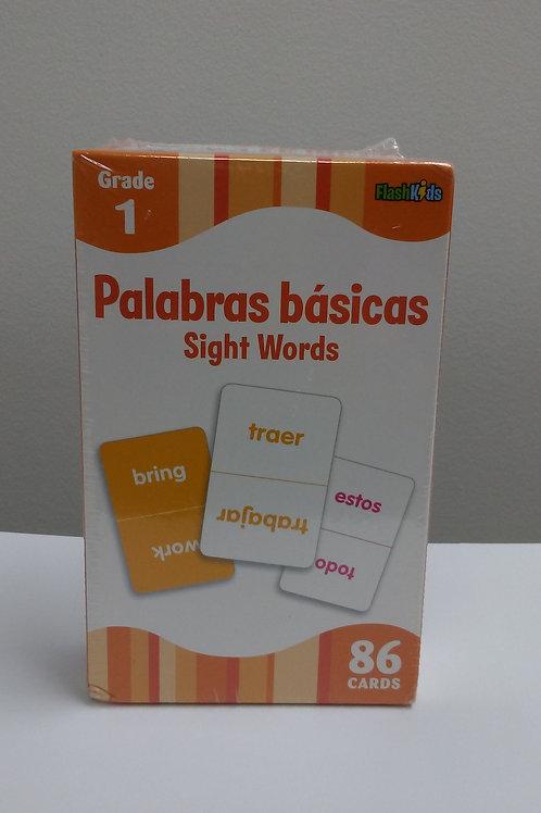 Palabras Basicas Flash Cards