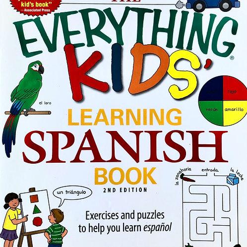 """Eveything Kids' Learning Spanish"" Book"