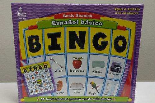 Español Básico Bingo