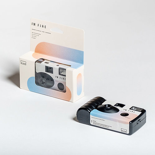I'M Fine Single Use Camera (New Regular Edition)