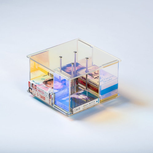 Merry-Go-Round Turnable Cassette Tape Stand DIY Set