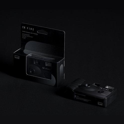 I'M Fine Single Use Camera - DAWN Black & White Edition