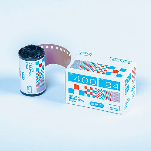 NINM Lab Business Use 135 Color Negative Film(ISO 400 / 24 exp)