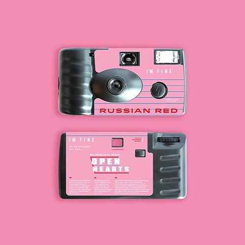 I'M Fine Single Use Camera - NINM Lab x RUSSIAN RED