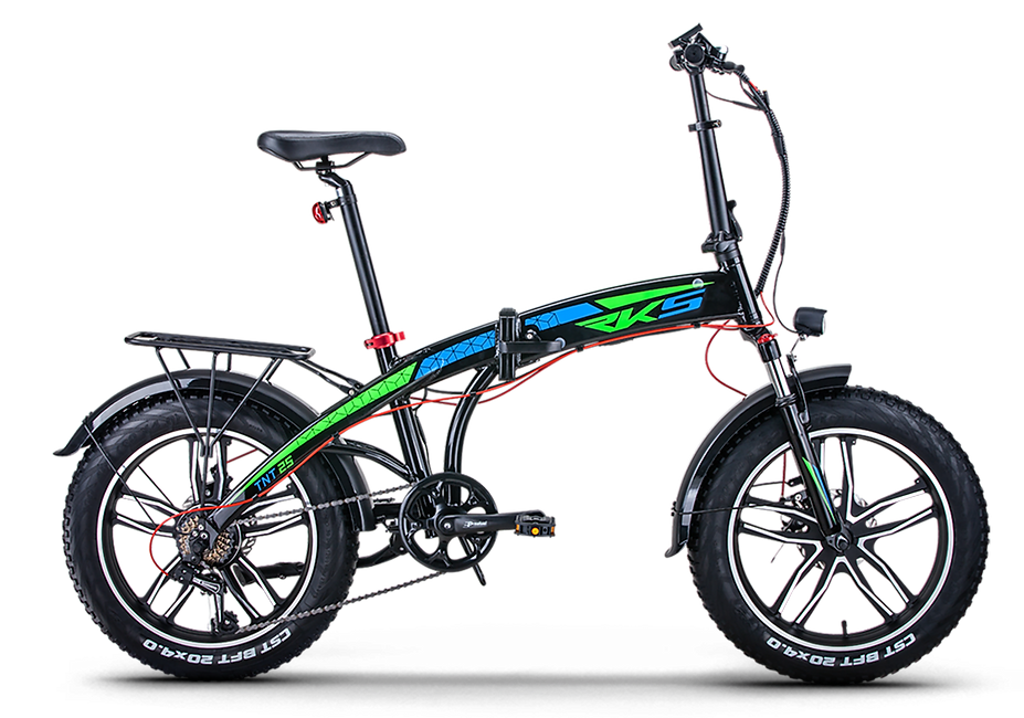 BOGGe RKS TNT electric folding bike