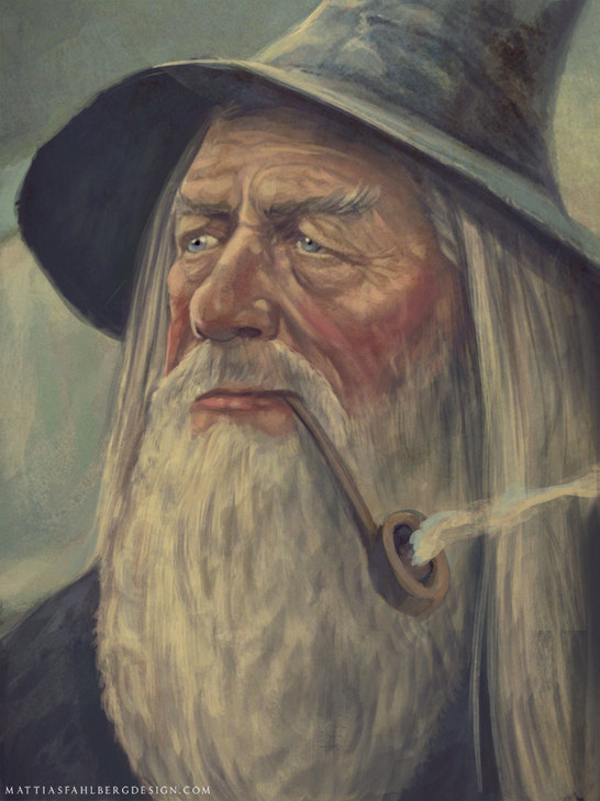 Fisherman Gandalf