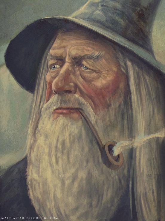 Fisherman Gandalf