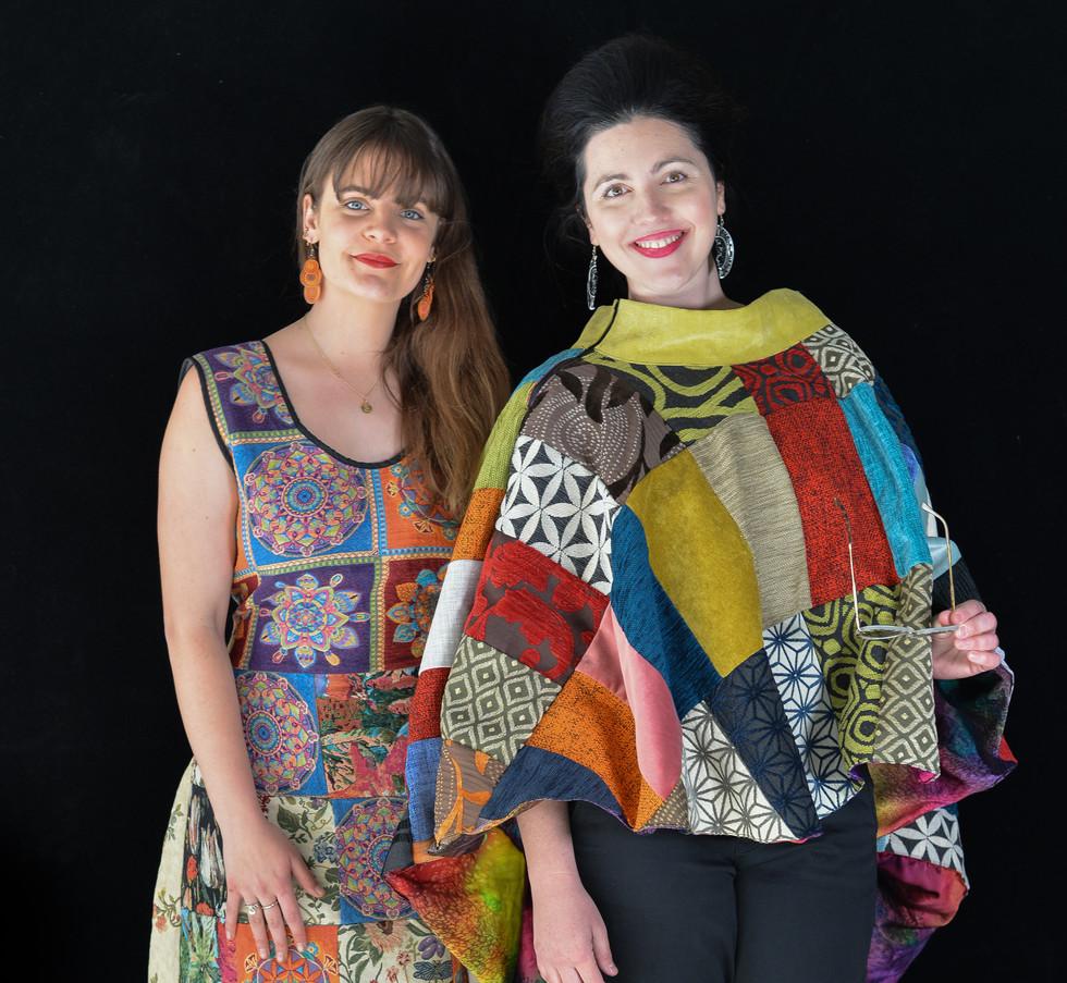 Liz Wauchope and Naina Devi, designers