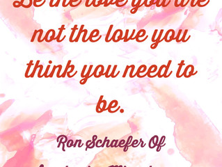 Be the love you are.