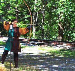 Dame Elaine Archery Shoot