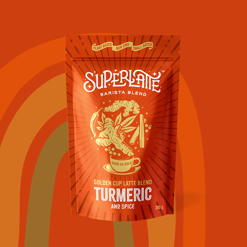 Golden Cup Turmeric Latte