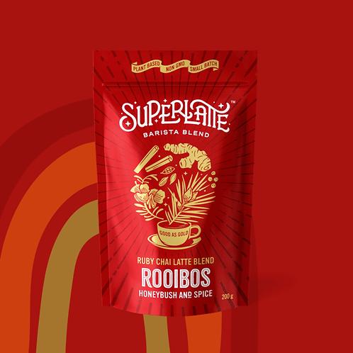 Ruby Chai Rooibos Latte