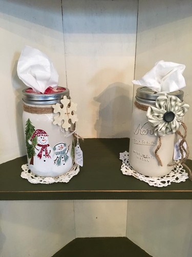 Custom Kleenex Jar