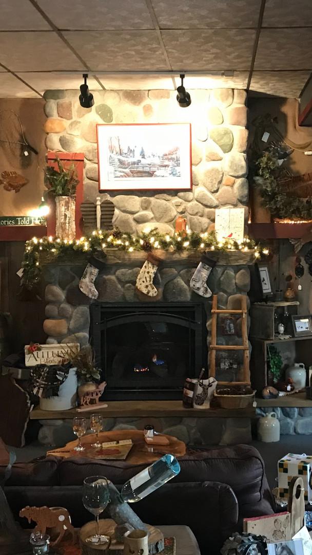 Custom Made Fireplace