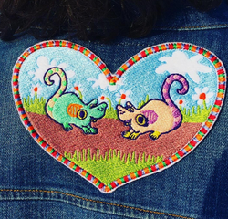 Mousey love patch