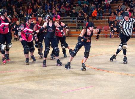 """Roller derby really shows you can be and do whatever you want"""