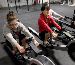 Workout variety keeps roller derby team fit