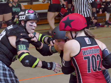 Mythbusting at the roller derby