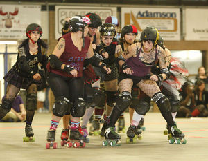 Roller Derby now has fixed rules, fair matches