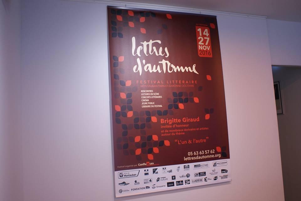 Lettres d'automne 2016