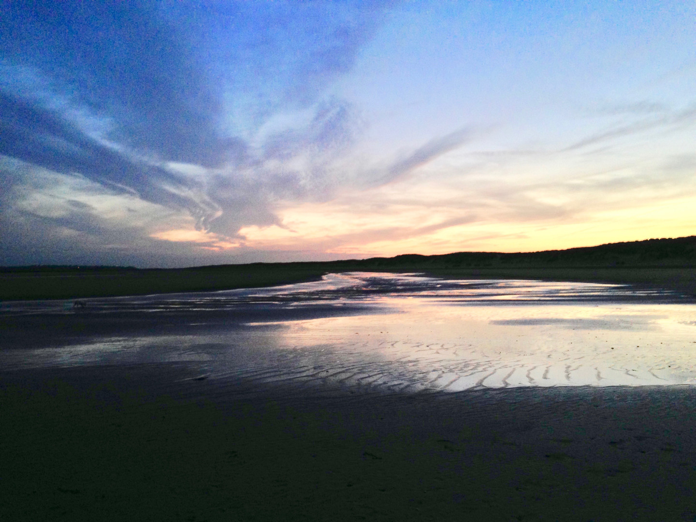 beach photo evening light  camber copy 2