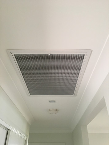 Ducted aircon installation