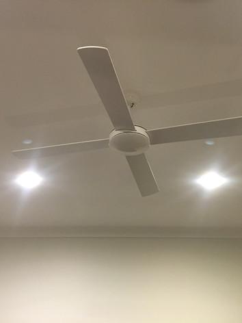 Fan & Downlight Installation
