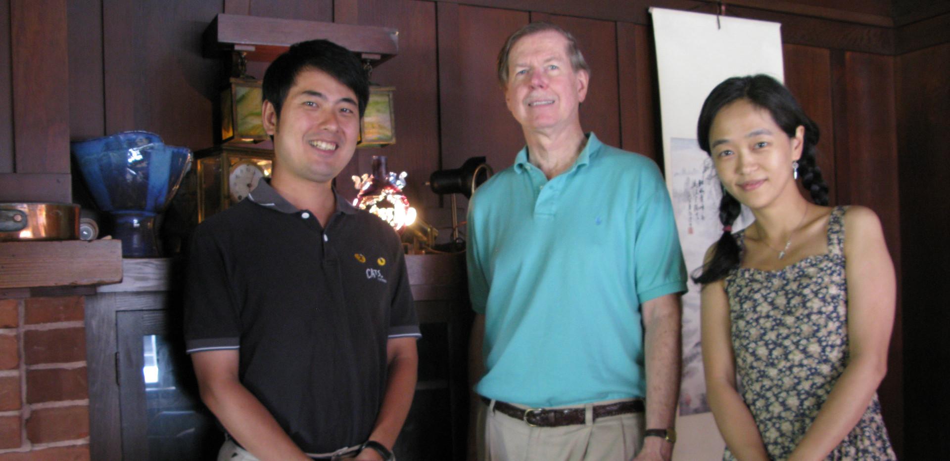 Prof Parish and Wan-chi 2008