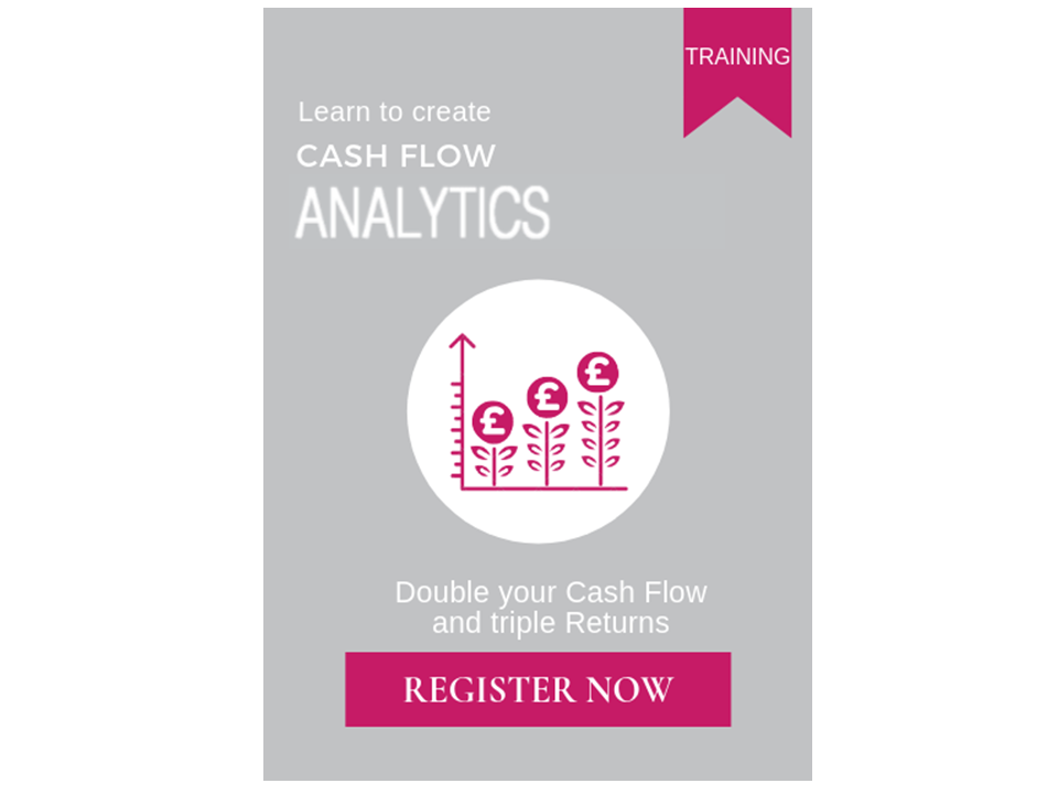 Training for Executives to boost Cash Flow and triple Returns
