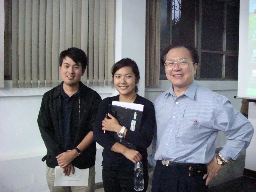 Nancy and Prof. Lin Jin-Tan 2007