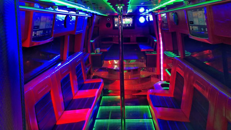 Interior Party Bus