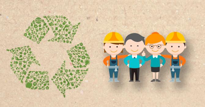 Le Recyclage, ou comment allier environnement, économie et solidarité.