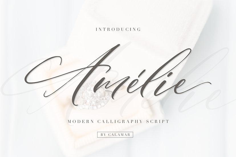 Amelie Script