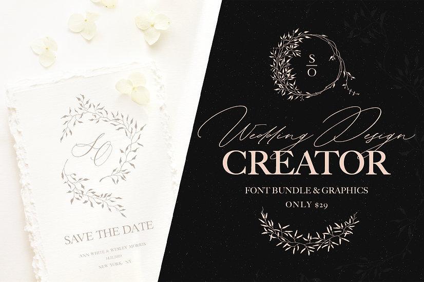 Wedding Design Creator | Graphic Set