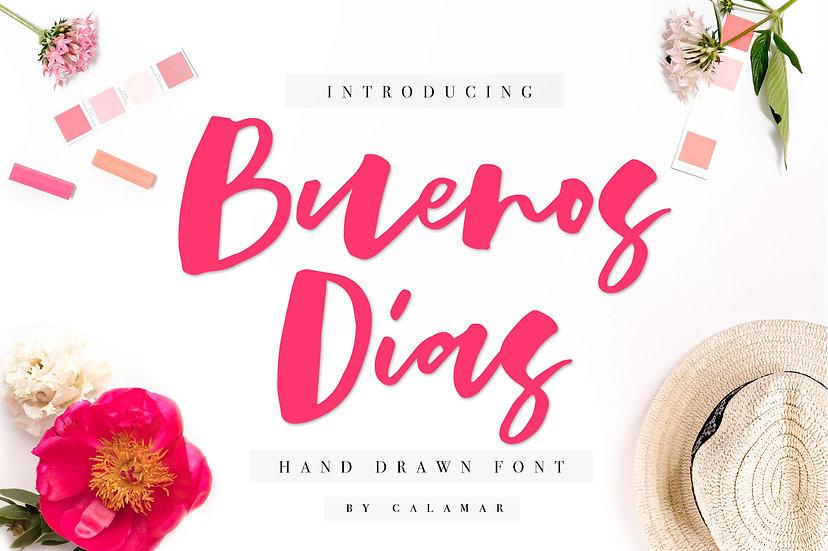 Buenos Dias Font
