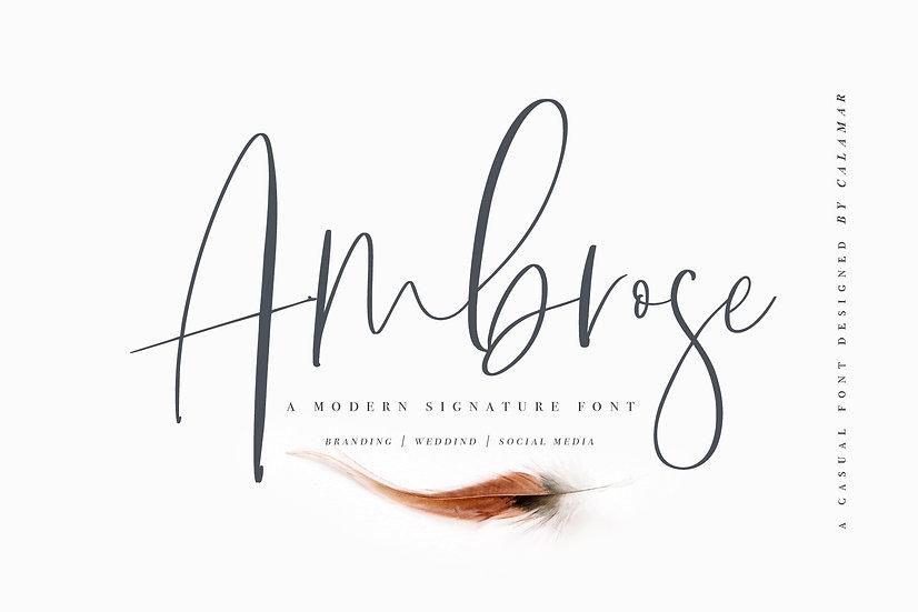 Ambrose Font