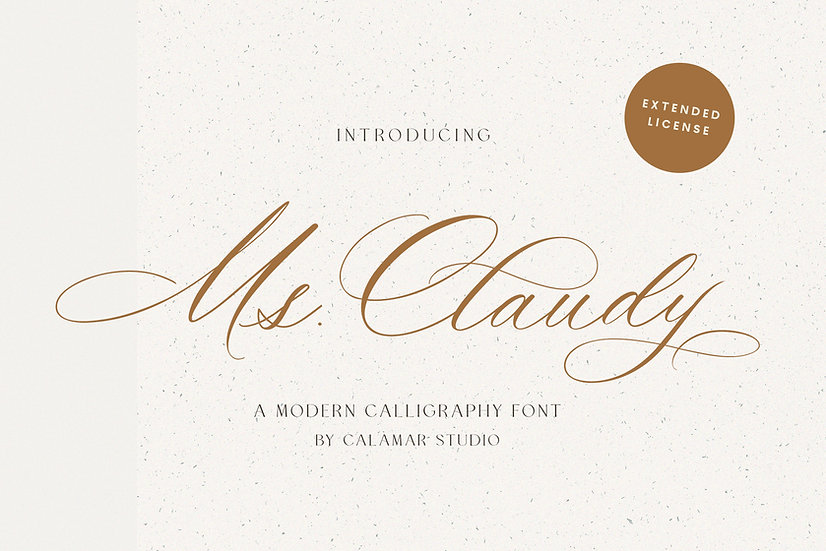Ms. Claudy | Extended License