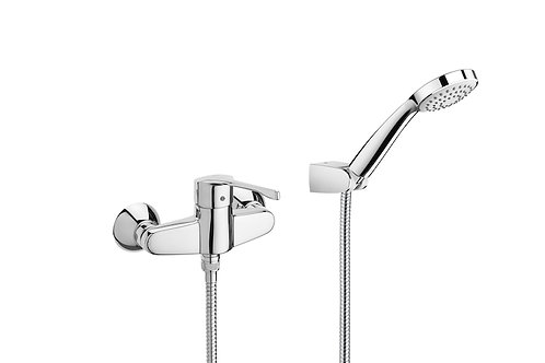 Victoria PRO - Wall-mounted shower mixer, 1,70m flexible shower hose